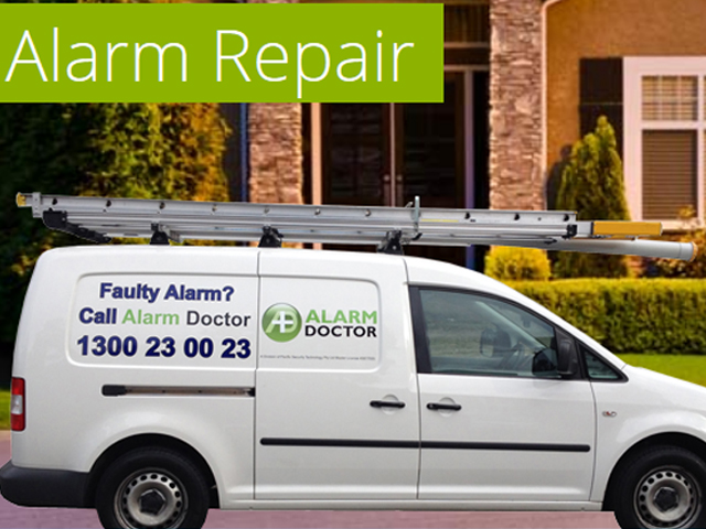 home alarm repair service