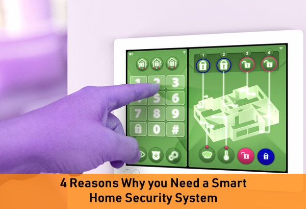 4 Reasons Why you Need a Smart Home Security System